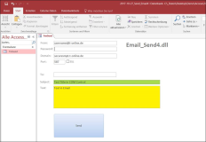 Email Send Control for Office applications