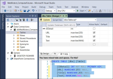 Add WPF Local SQL Database to Application and Connect Data