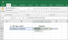 Excel: Text Like function