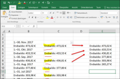 Excel: Copy cells without empty lines