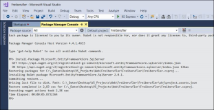 11 Create and Connect a database to ASP Net MVC Core 2