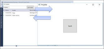 WPF: Navigate to a page