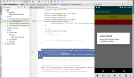 Android Java: Create a view event at runtime and assign it to a view element