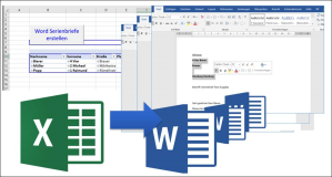 Automatically create form letters from Excel with filter