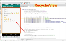 Android RecyclerView: complete code sample