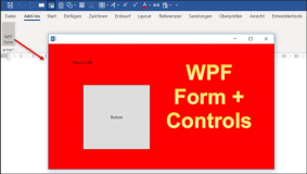 WPF in Office Vstso applications