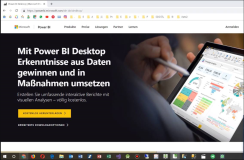 Start Power BI Desktop Tutorial