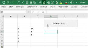 Excel: Convert letters to Ascii numbers around