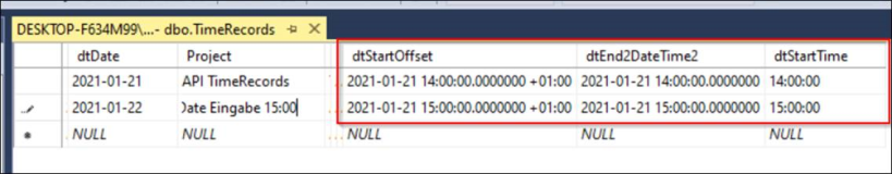 SQL Data Types   DateTime Date Time und TimeSpan in Asp.Net Excel
