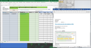 Send Serial emails with Excel and Outlook with Word template   Version 55